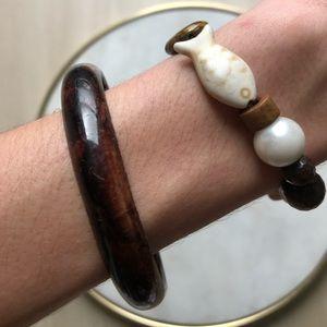Vintage Brown Bracelet Bundle